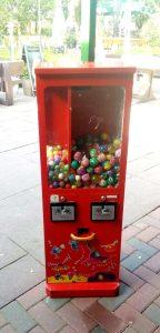 Verkaufsautomat Bälle
